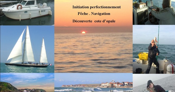 Hire Motorboat with or without skipper Rhea Boulogne-Sur-Mer