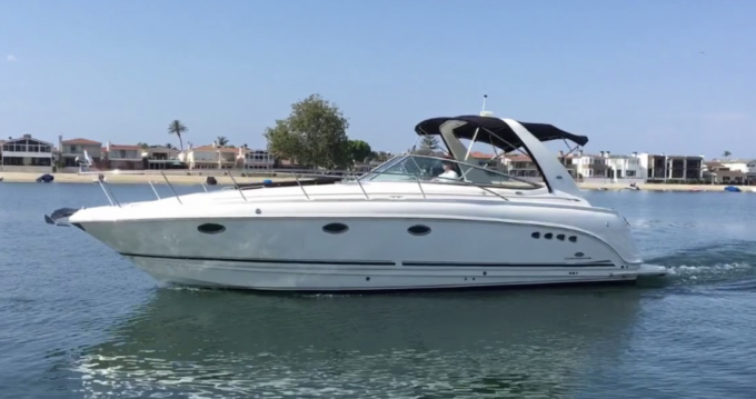 Chaparral 350 between personal and professional Giardini-Naxos