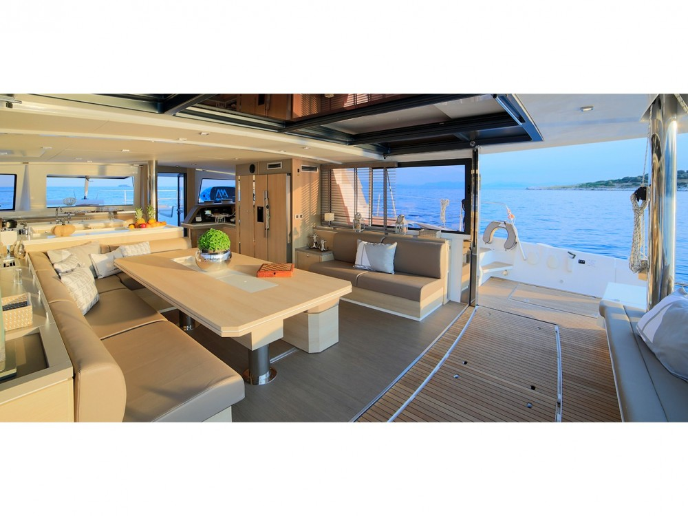 Hire Catamaran with or without skipper  Álimos