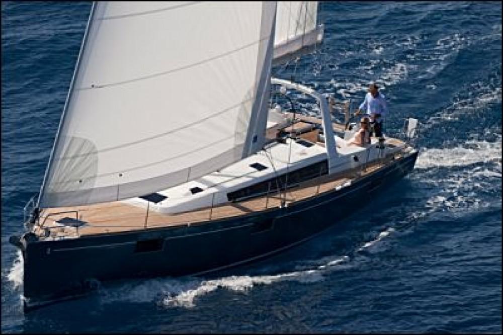 Boat rental Naples cheap Oceanis 48