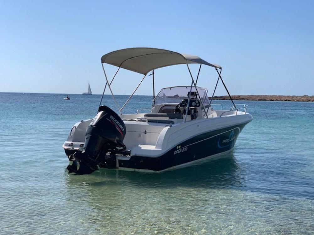 Boat rental Ibiza cheap Pacific Craft 670