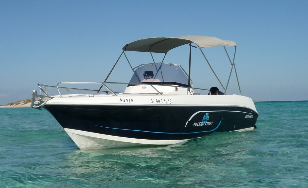 Hire Motorboat with or without skipper  Ibiza