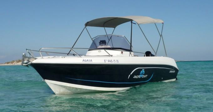 Boat rental Ibiza Town cheap Pacific Craft 670
