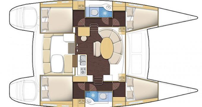 Rent a Lagoon Lagoon 380 S2 Kiel