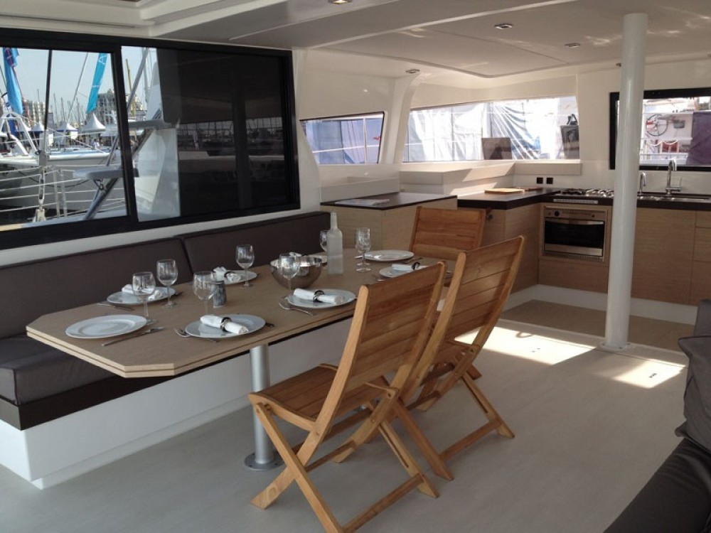 Rental Catamaran in Puerto Rico - Catana Bali 4.3