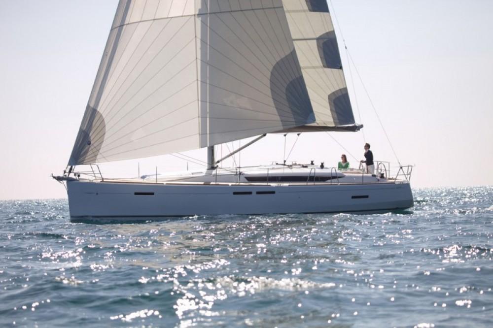 Jeanneau Sun Odyssey 449 between personal and professional US Virgin Islands