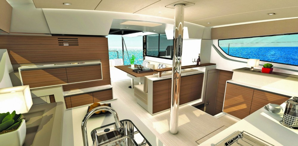 Hire Catamaran with or without skipper Bali Catamarans Olbia