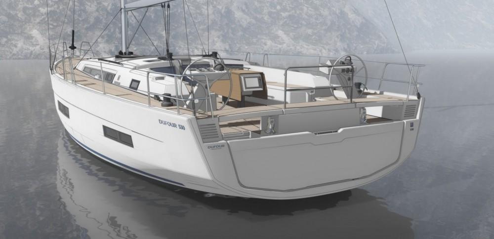 Rental yacht  - Dufour Dufour 530 on SamBoat
