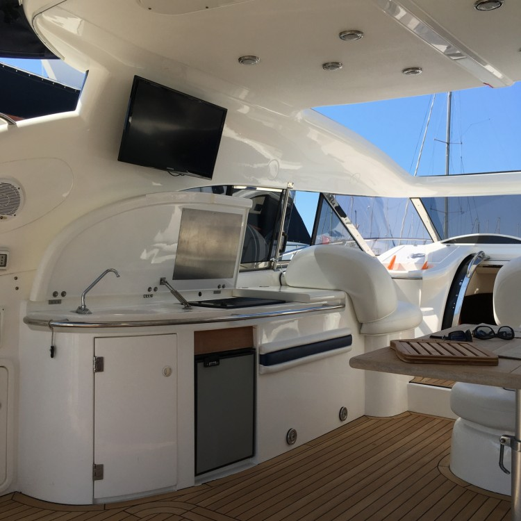 Sunseeker Predator 56 between personal and professional Cannes
