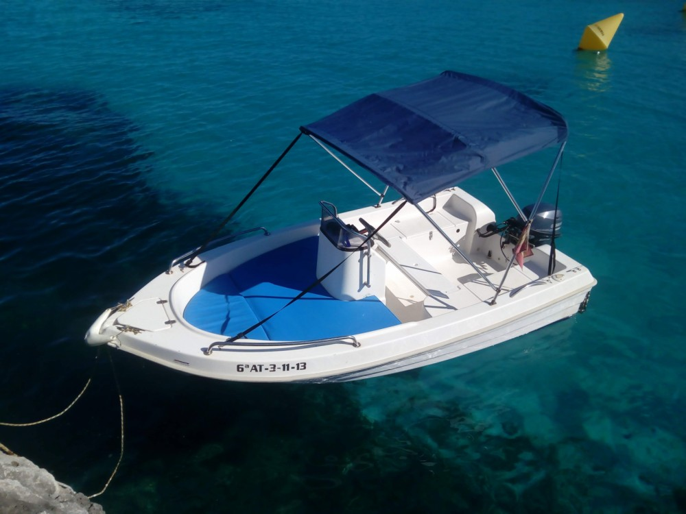 Rental Motorboat Dipol with a permit