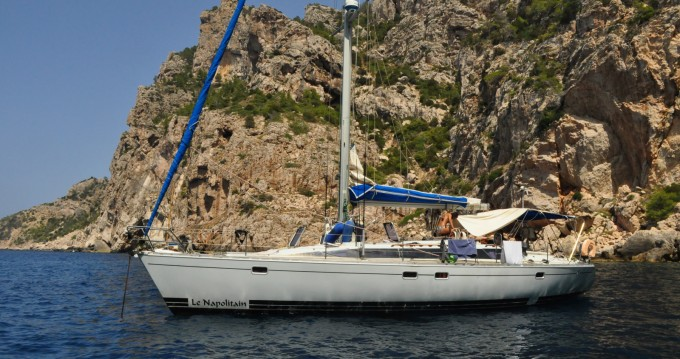 Rental Sailboat Kirie with a permit