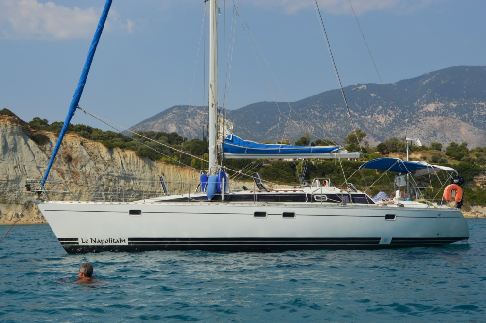 Rental Sailboat in Ajaccio - Kirie Feeling 446