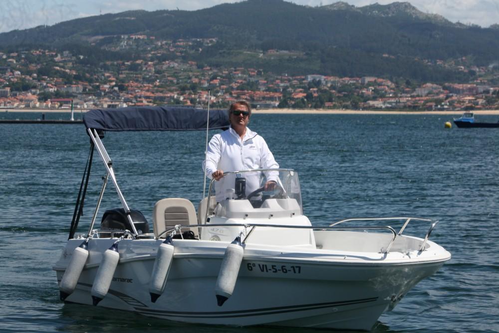 Boat rental Baiona cheap Cap Camarat 4.7 CC Style