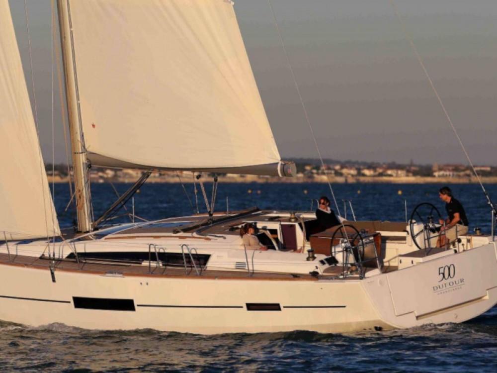 Rental Sailboat in Furnari - Dufour Dufour 500 Grand Large