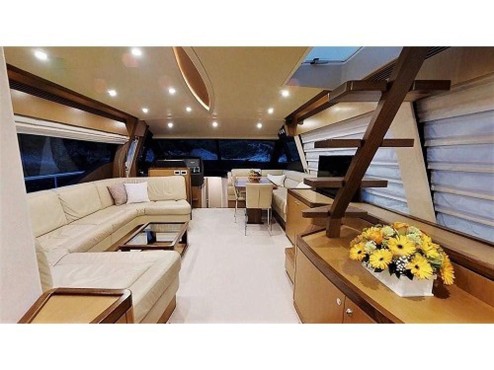 Rental Yacht in  - Ferreti Ferretti 630