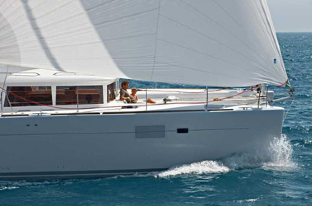 Rental Catamaran in US Virgin Islands - Lagoon Lagoon 450