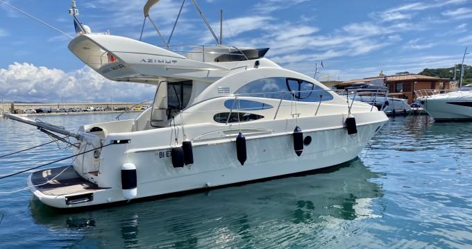 Rental Motorboat in Fréjus - Azimut Azimut 39 E Fly
