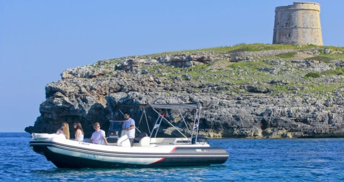 Hire RIB with or without skipper Bsc Mahón