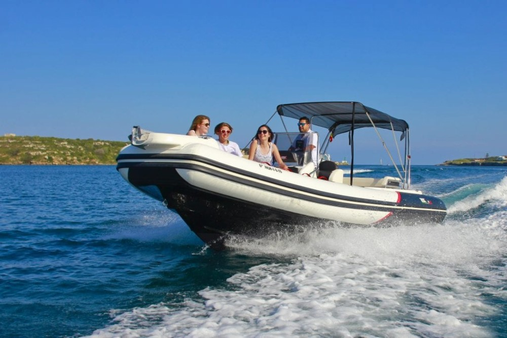 Hire RIB with or without skipper Bsc Maó