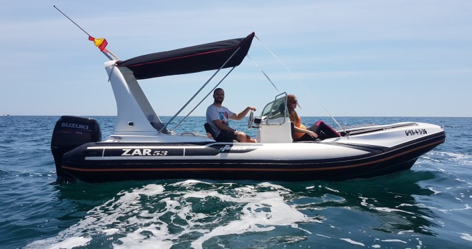 RIB for rent Valencia at the best price