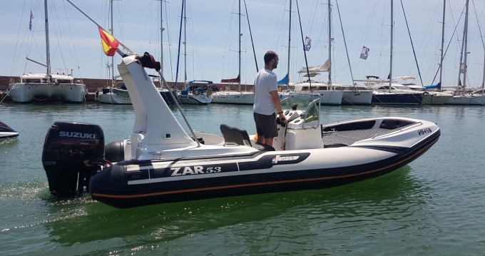 Hire RIB with or without skipper Zar Valencia