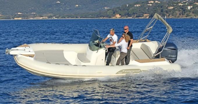 Boat rental Propriano cheap Tempest 700 Sun