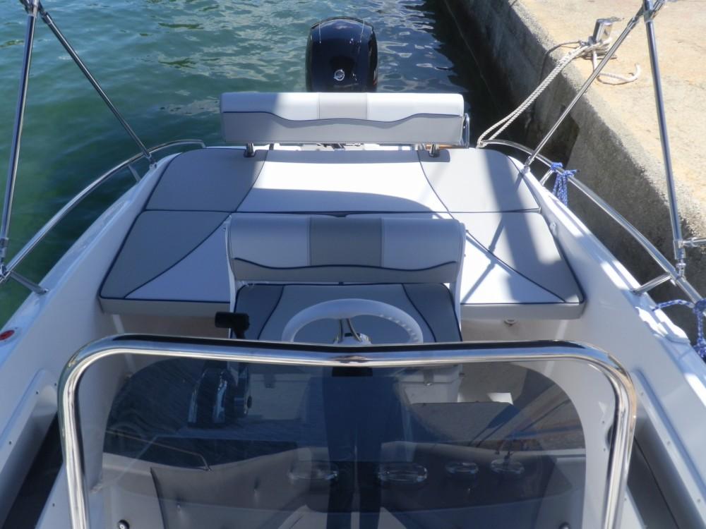 Rental Motorboat Salmeri with a permit
