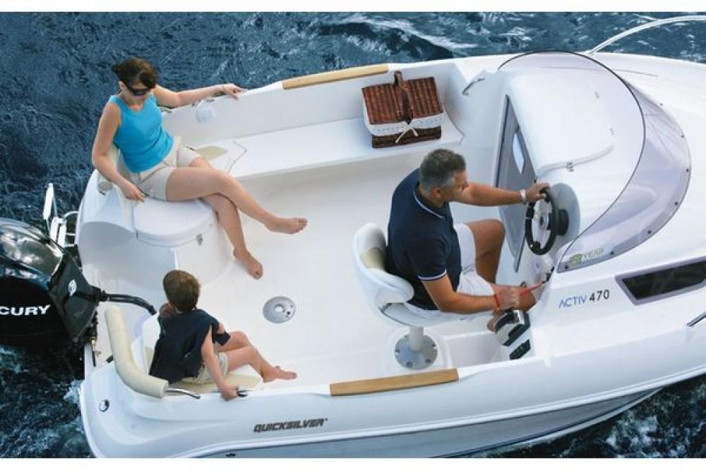 Quicksilver Quicksilver 470 Cruiser between personal and professional Saint-Laurent-du-Var