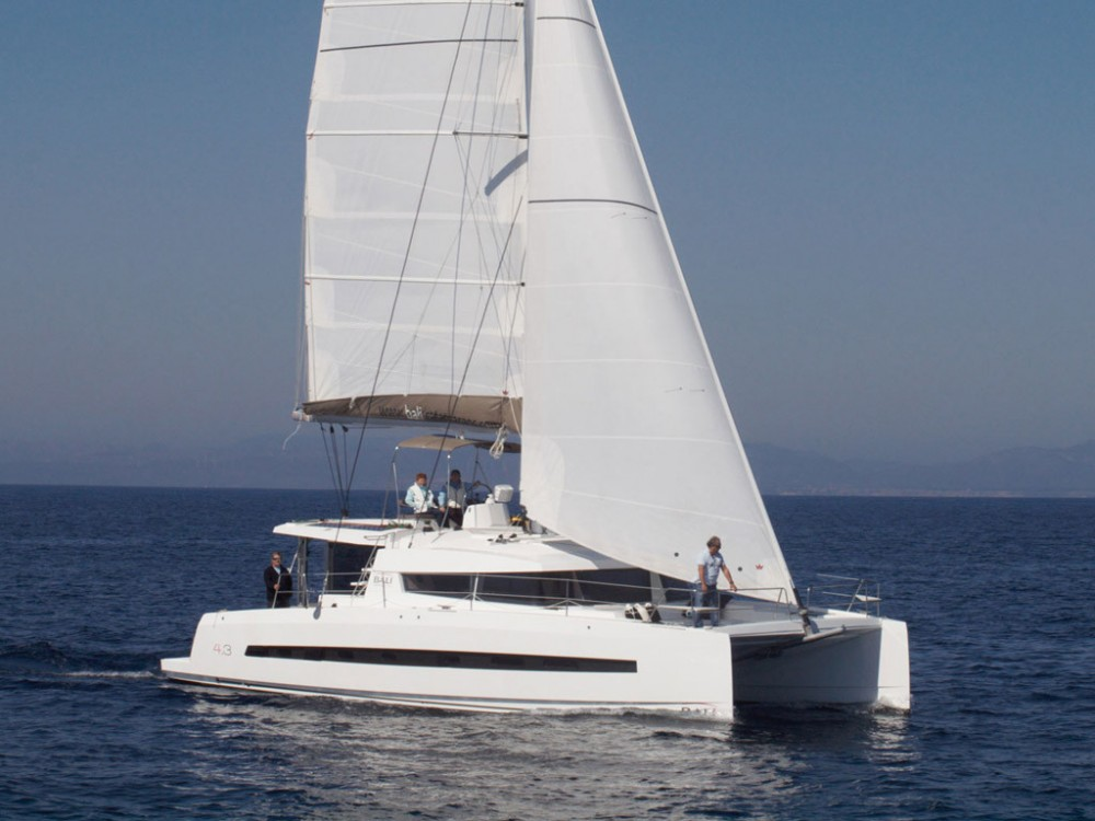 Rent a Catana Bali 4.3 Owner Version US Virgin Islands