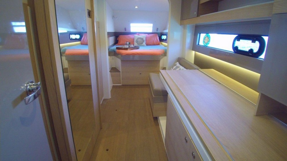 Boat rental Catana Bali 4.3 Owner Version in US Virgin Islands on Samboat