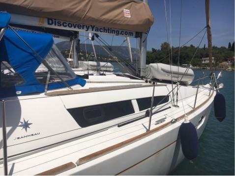 Boat rental Gouvia cheap Sun Odyssey 36i