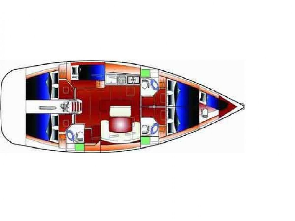 Rental yacht Kontokali - Bénéteau Cyclades 50.5 on SamBoat