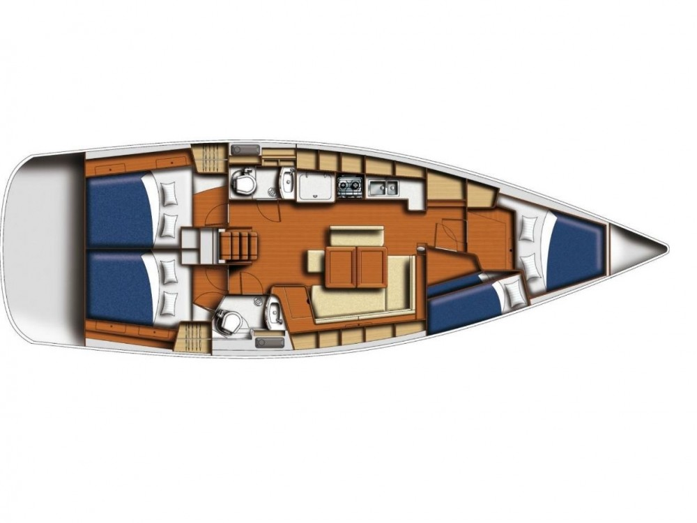 Bénéteau Oceanis 43 between personal and professional