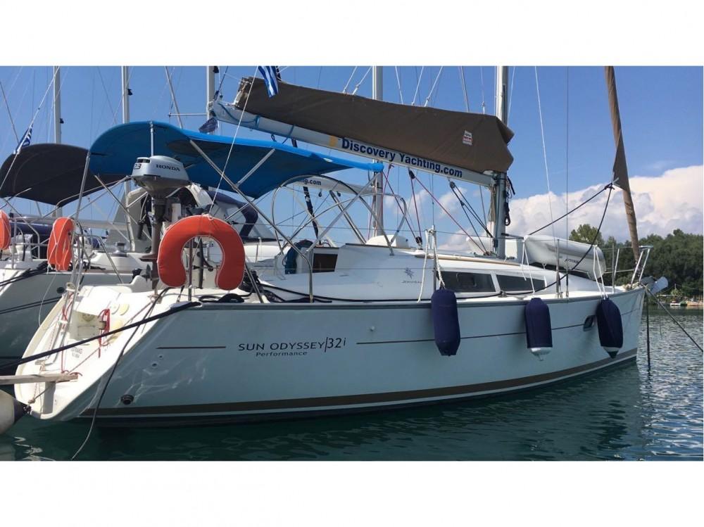 Rental yacht Kontokali - Jeanneau Sun Odyssey 32i on SamBoat