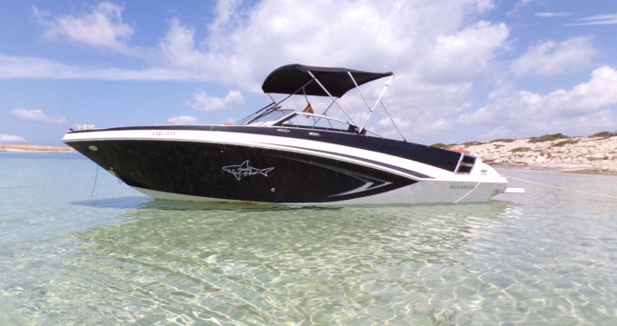 Boat rental Glastron GT 245 in Ibiza Island on Samboat