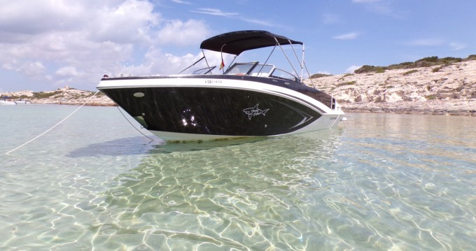 Hire Motorboat with or without skipper Glastron Ibiza Island