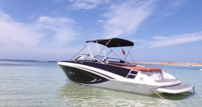 Rental Motorboat in Ibiza Island - Glastron GT 245