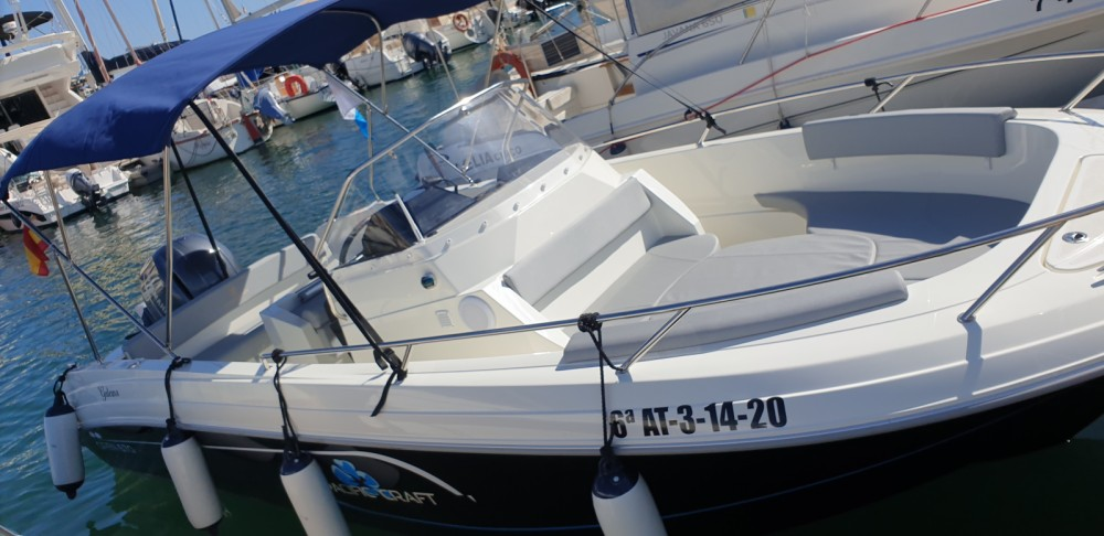 Rental Motorboat in Alicante - Pacific Craft Pacific Craft 670 Open