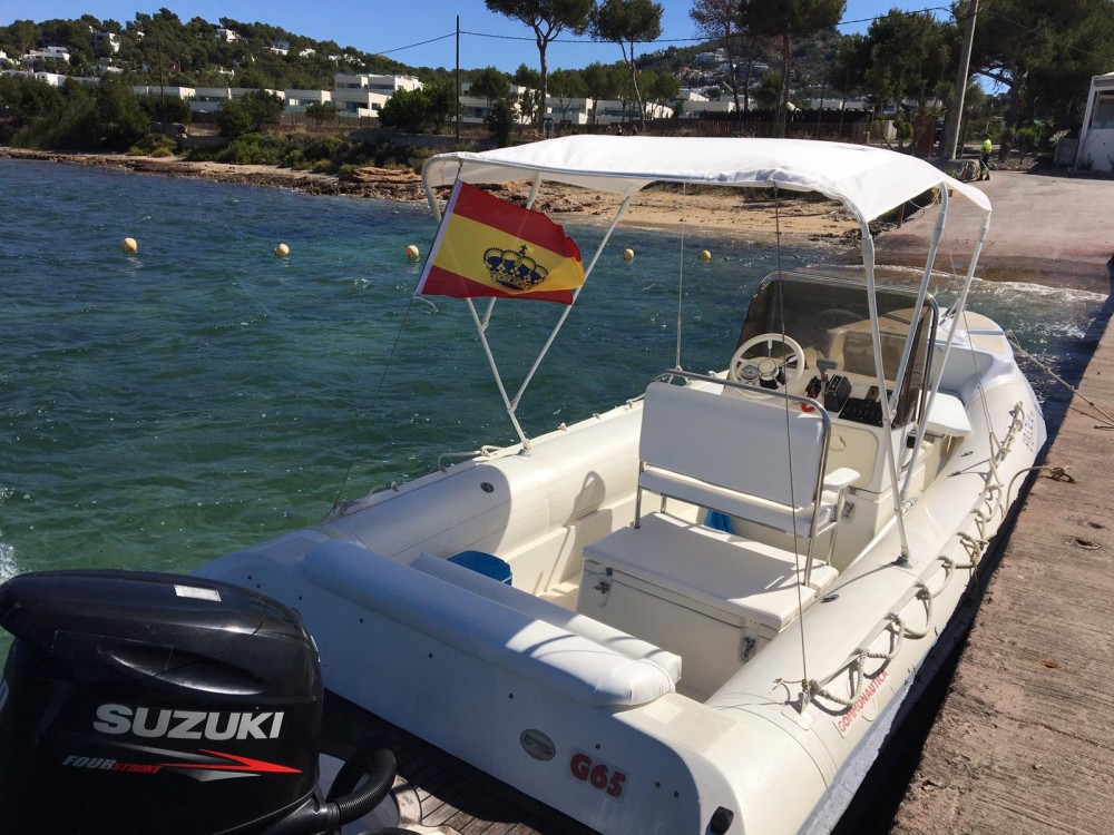 Gommonautica G65y between personal and professional Ibiza