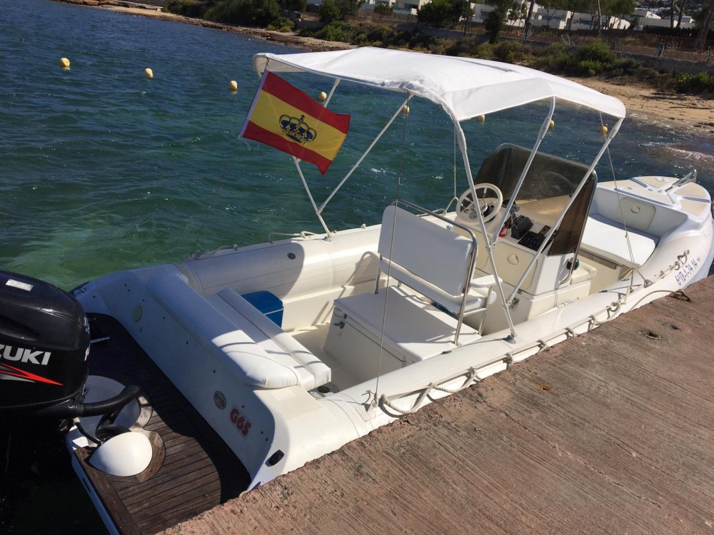 Hire RIB with or without skipper Gommonautica Ibiza