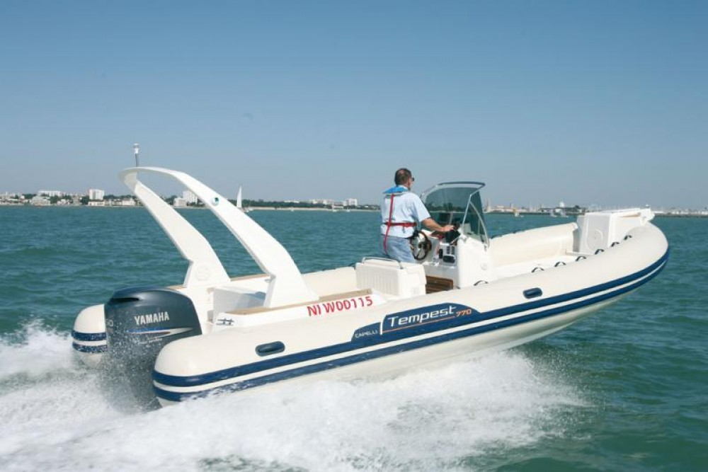 Rental yacht Propriano - Capelli Tempest 770 on SamBoat