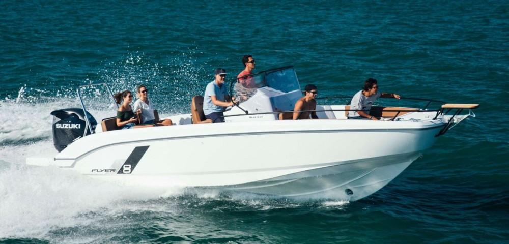 Rental yacht Propriano - Bénéteau Flyer 8 SPACEdeck on SamBoat