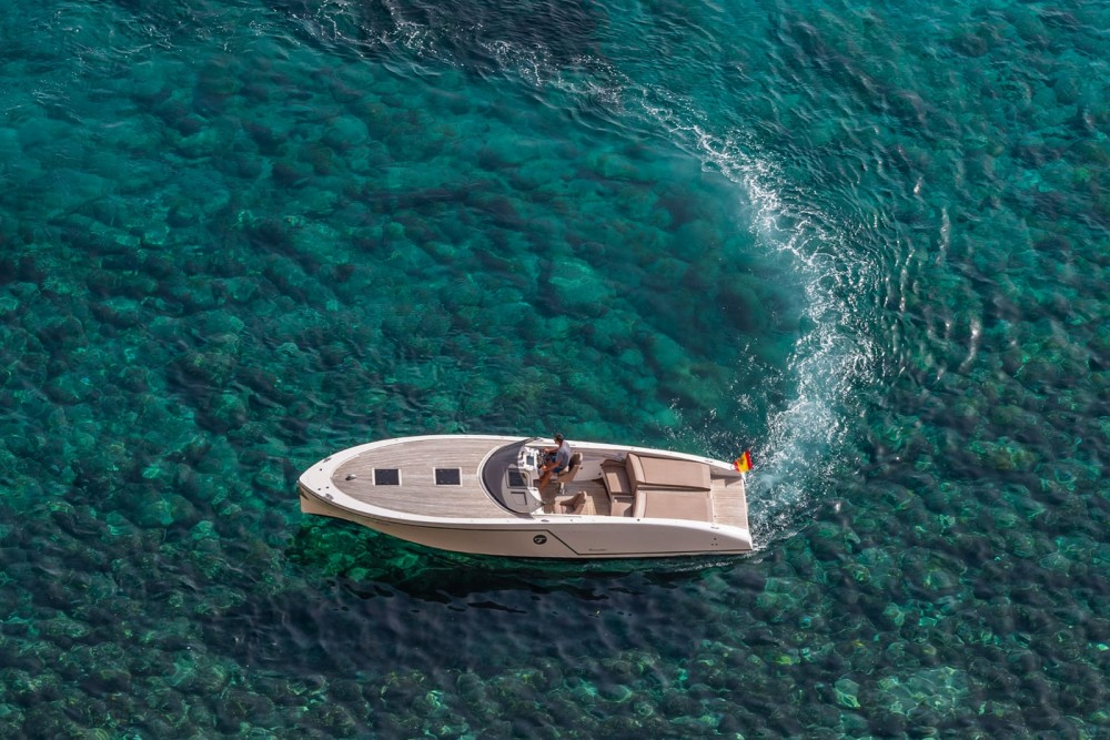 Rent a Frauscher 1017 GT Balearic Islands