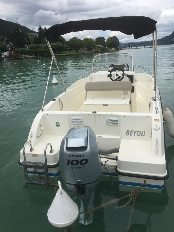 Boat rental Quicksilver Activ 505 Open in Sevrier on Samboat