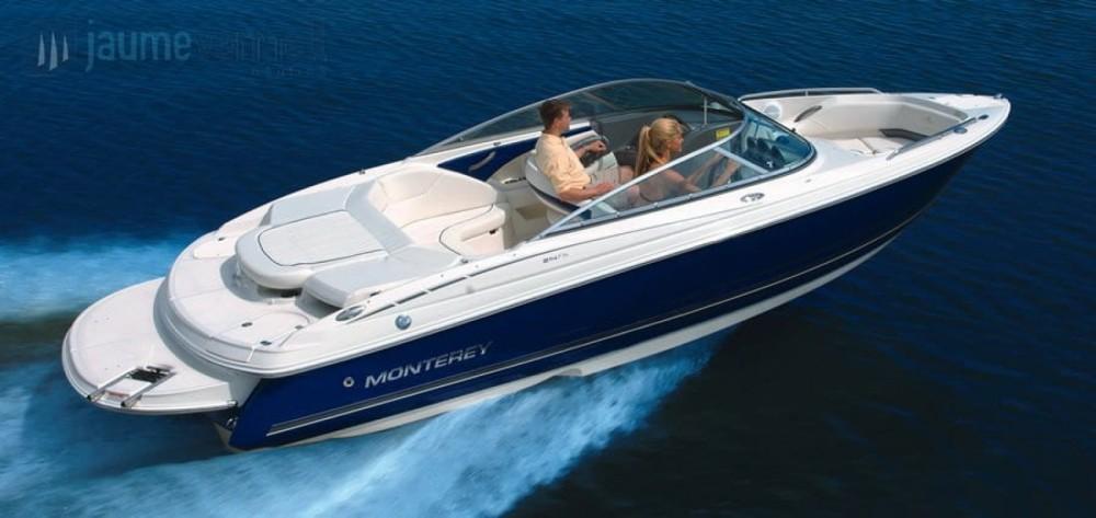 Rental Motorboat in Maó - Monterey 224 FS