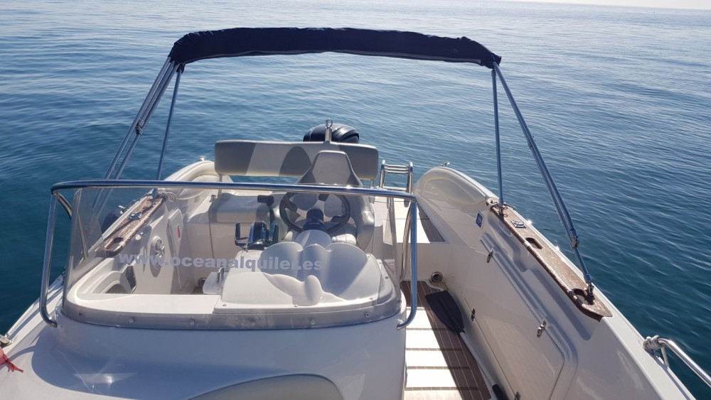 Hire Motorboat with or without skipper Quicksilver Benalmádena