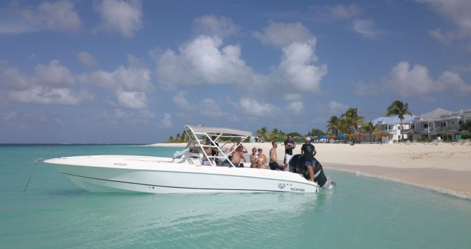 Wellcraft Scarab 32 between personal and professional Marigot