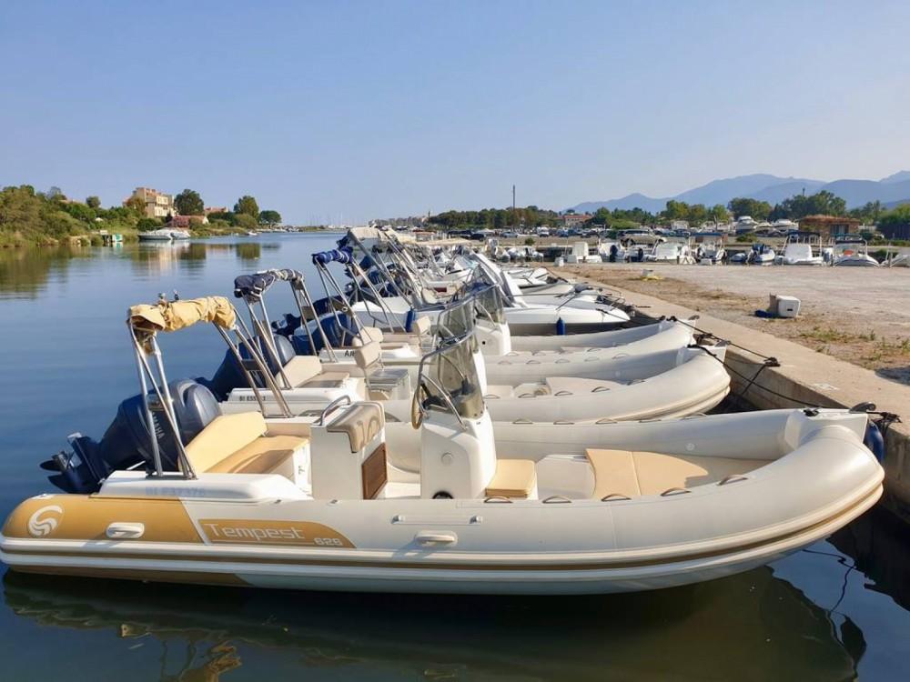 Boat rental Saint-Florent cheap Tempest 626