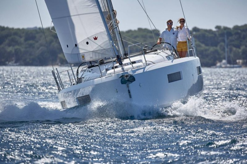 Hire Sailboat with or without skipper Jeanneau Porto Santa Margherita
