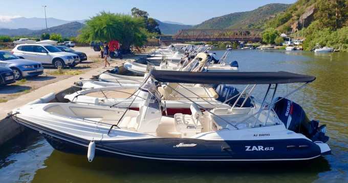 Hire RIB with or without skipper Zar Saint-Florent